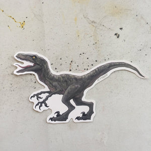 Velociraptor JURASSIC PARK Waterproof Sticker