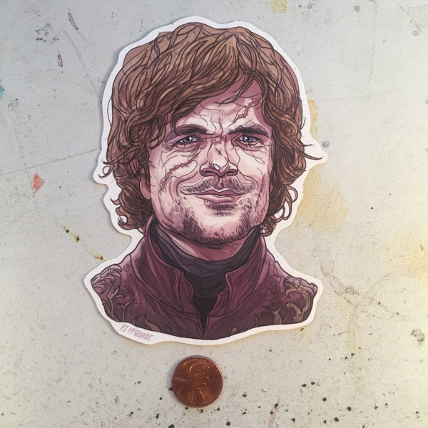 Tyrion GAME of THRONES Waterproof STICKER!