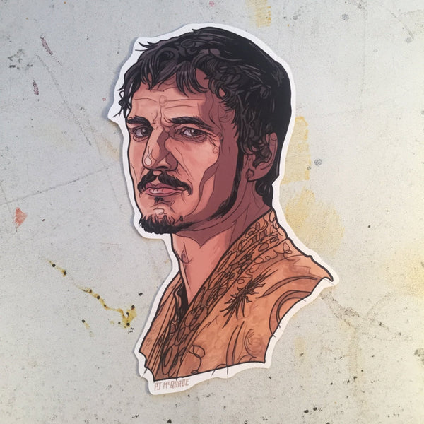 Oberyn GAME of THRONES STICKER!