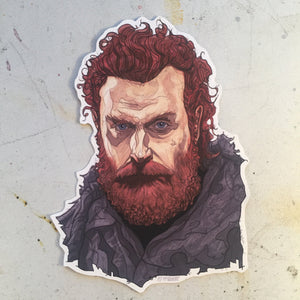 Tormund GAME of THRONES STICKER!