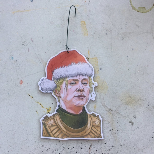 BRIENNE Game of Thrones CHRISTMAS ORNAMENT!