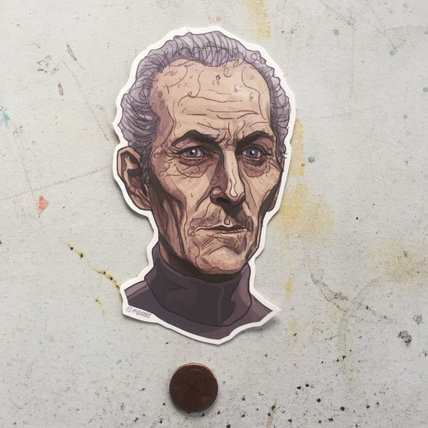 Grand Moff Tarkin STAR WARS STICKER!