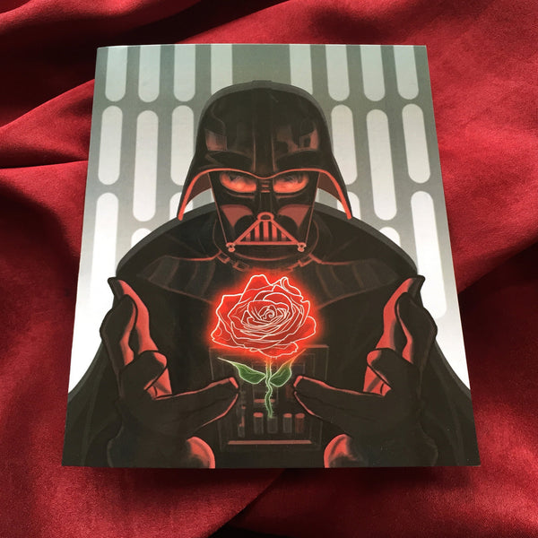 DARTH VADER Star Wars Valentine's Day CARD!