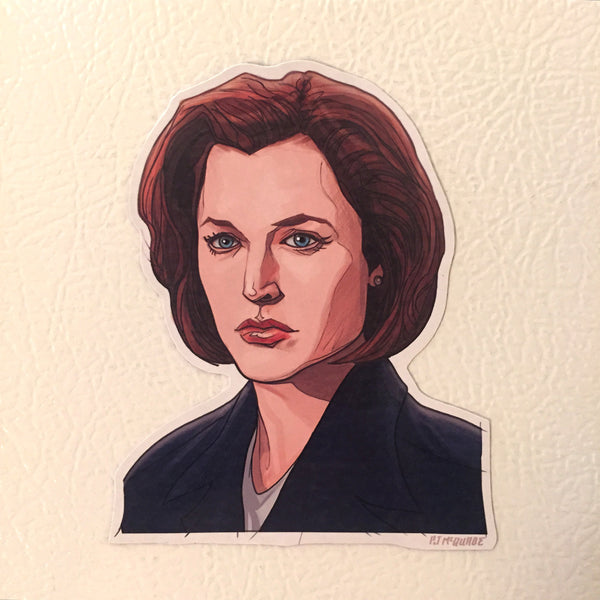 Dana Scully X-FILES Fridge Magnet!