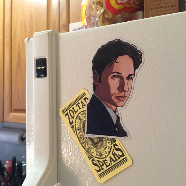 Fox Mulder X-FILES FRIDGE MAGNET!