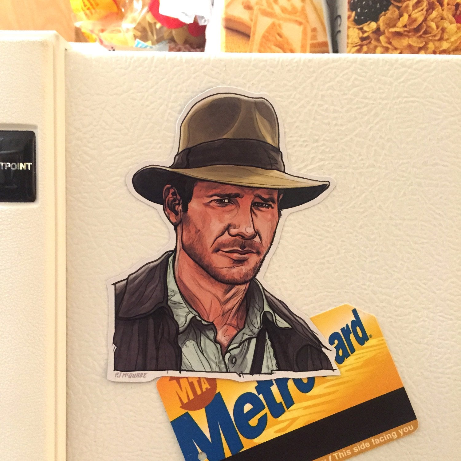 INDIANA JONES Fridge MAGNET!