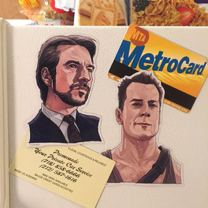 DIE HARD Fridge Magnet COMBO!