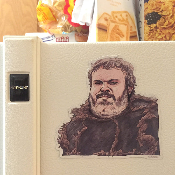 Hodor GAME of THRONES FRIDGE MAGNET!