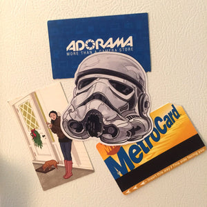 EMPIRE STORMTROOPER STAR WARS FRIDGE MAGNET!
