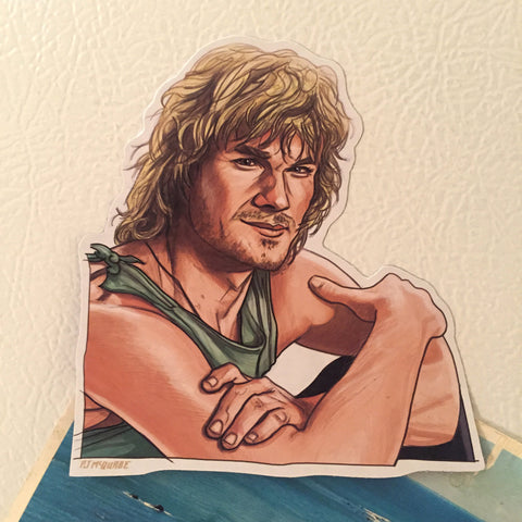 Bodhi POINT BREAK Fridge Magnet