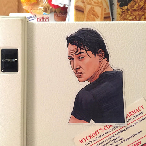 Johnny Utah POINT BREAK Fridge Magnet