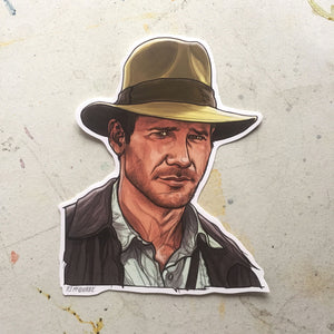 INDIANA JONES Waterproof STICKER!