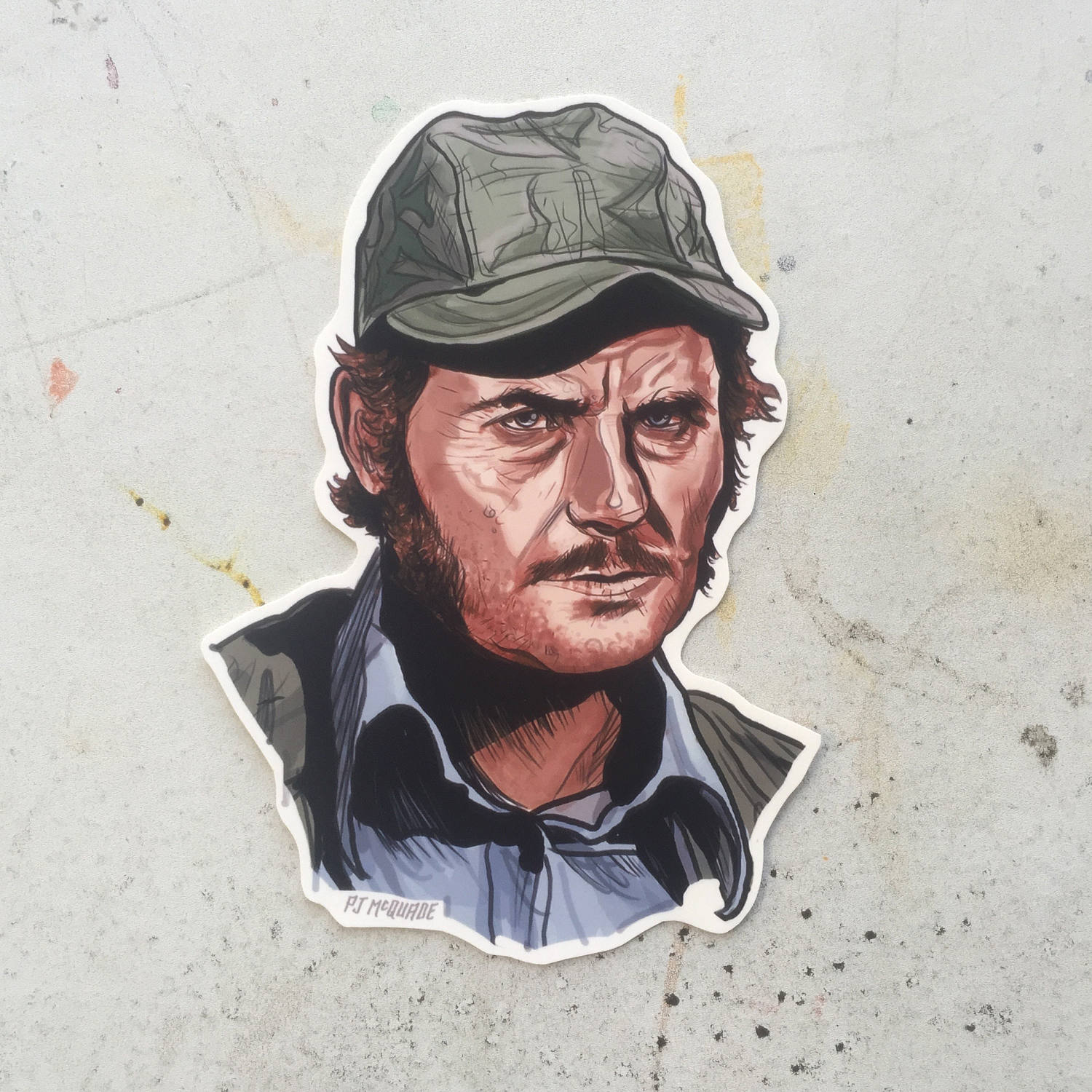 Quint JAWS Waterproof Sticker