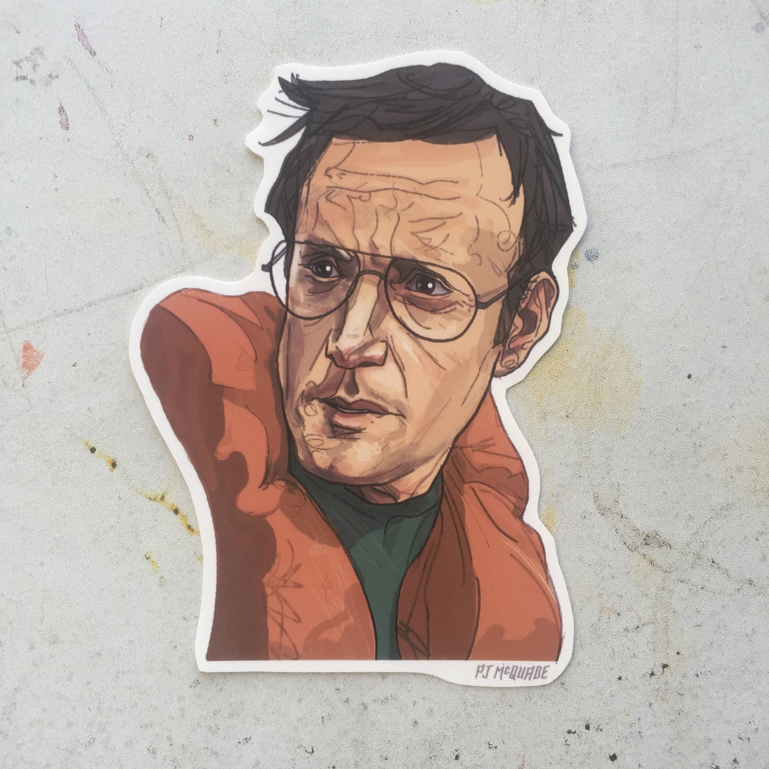 Chief Brody JAWS STICKER!