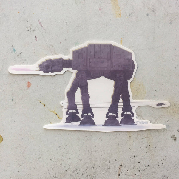 STAR WARS AT-AT WALKER Sticker!