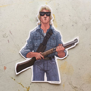 THEY LIVE John Nada STICKER!