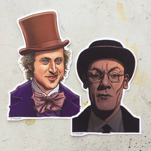 Willy Wonka Sticker COMBO!