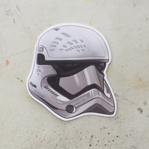 NEW ORDER Stormtrooper STAR WARS STICKER!