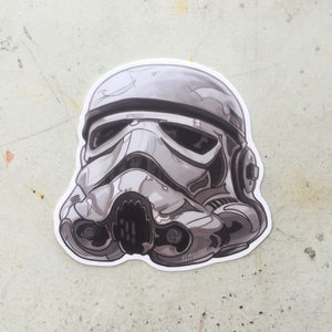 EMPIRE Stormtrooper STAR WARS STICKER!