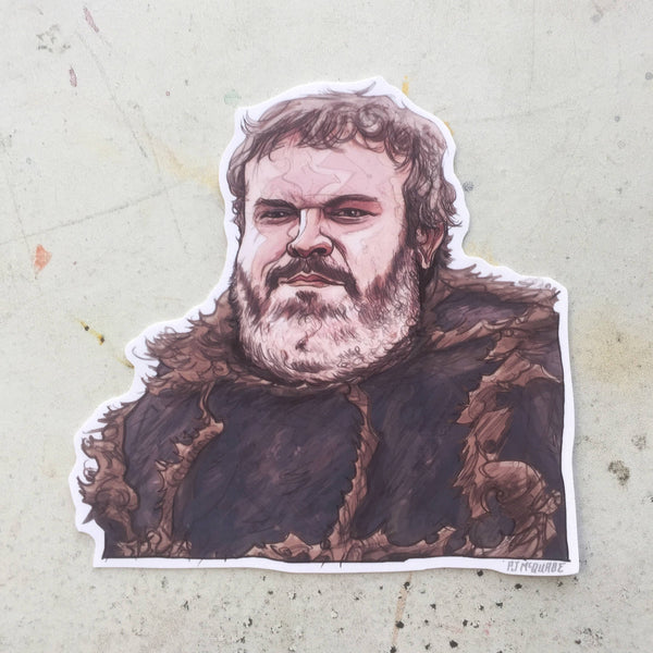 Hodor GAME of THRONES STICKER!