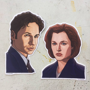 X-FILES Sticker COMBO!