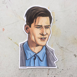 GEORGE McFLY BACK to the FUTURE George McFly STICKER!