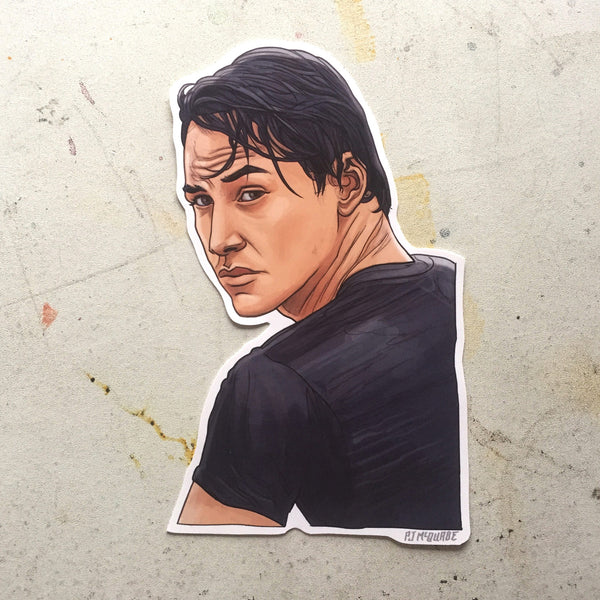 Johnny Utah POINT BREAK Waterproof Sticker!