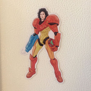 METROID RIPLEY Alien Fridge MAGNET!