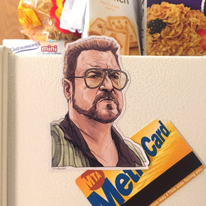 WALTER The Big Lebowski Fridge Magnet