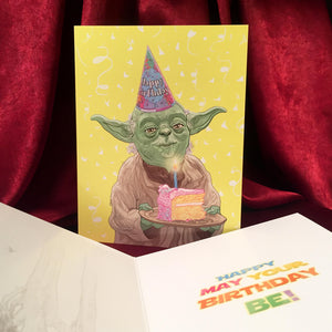 YODA Birthday CARD!