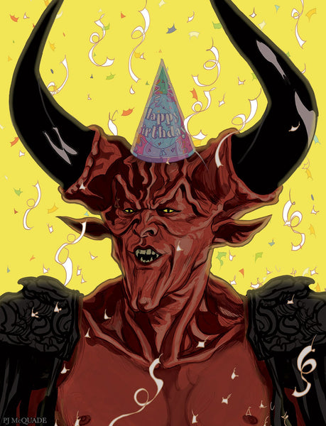 LEGEND Birthday Card with The LORD of DARKNESS