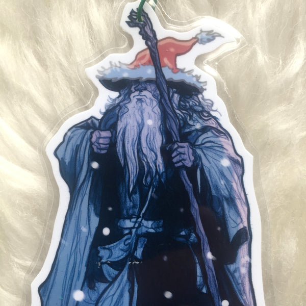 GANDALF Lord of the Rings CHRISTMAS ORNAMENT!