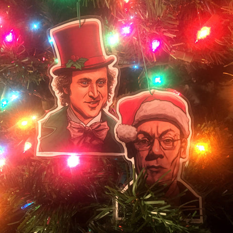 WONKA/SLUGWORTH Christmas Ornament COMBO!