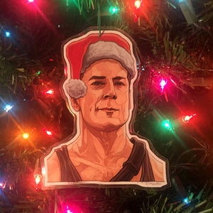 John McClane DIE HARD Christmas ORNAMENT!