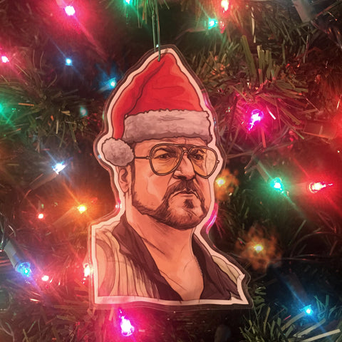 WALTER The Big Lebowski CHRISTMAS ORNAMENT!