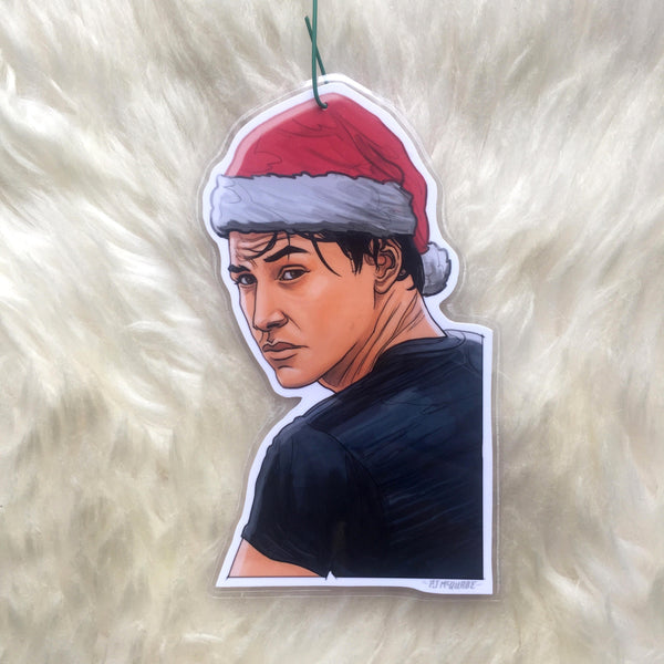 Johnny Utah POINT BREAK Christmas ORNAMENT!