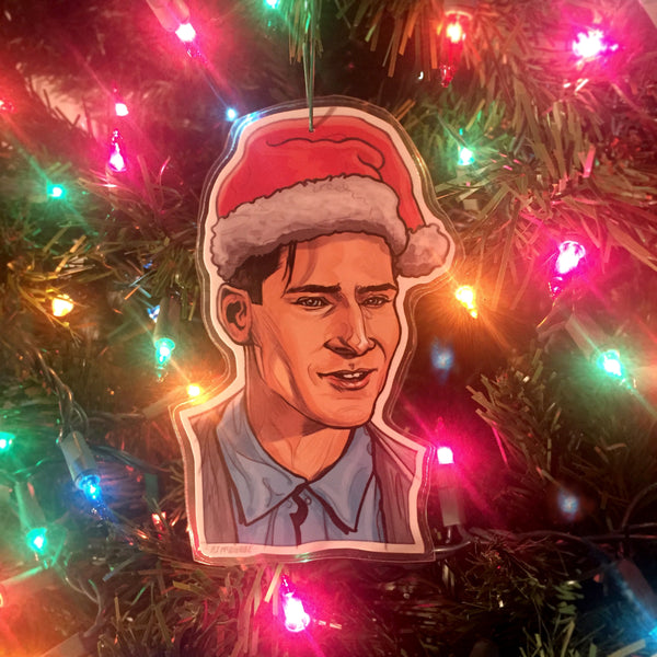 George McFly BACK to the FUTURE Christmas ORNAMENT!