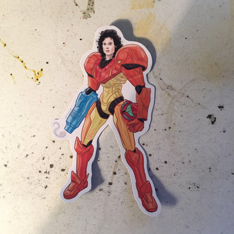 METROID RIPLEY Alien Waterproof Sticker