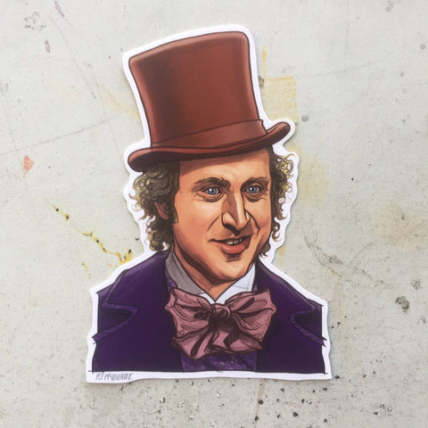 WILLY WONKA Sticker!