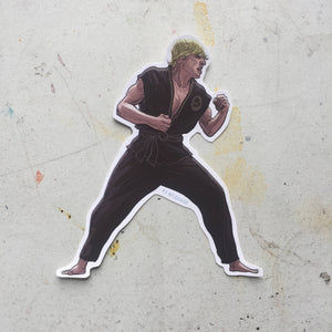 The KARATE KID Johhny Lawrence STICKER!