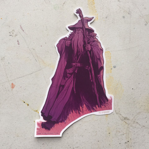 GANDALF Lord of the Rings STICKER!