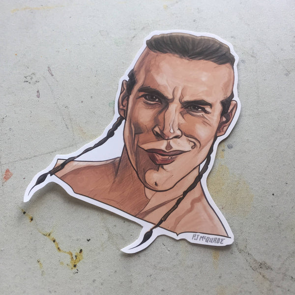 Anthony Kiedis POINT BREAK STICKER