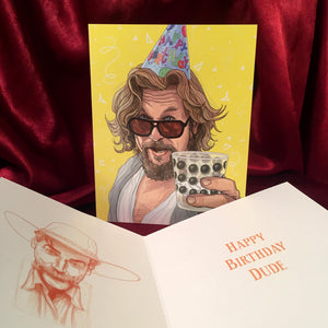 The Big Lebowski BIRTHDAY CARD!