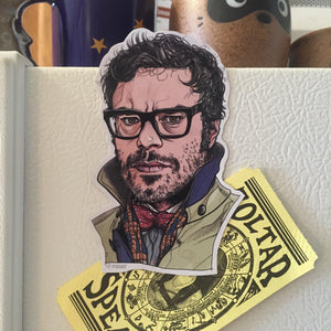 Jemaine Clement FRIDGE MAGNET!