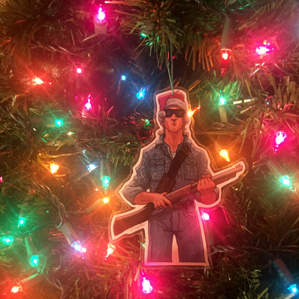 THEY LIVE Christmas Ornament!