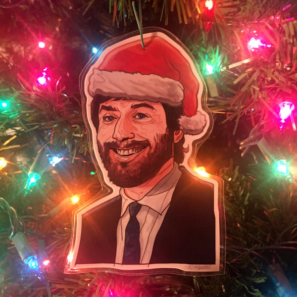 Ellis DIE HARD Christmas ORNAMENT!