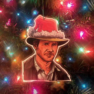INDIANA JONES CHRISTMAS Ornament!