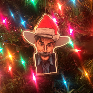 Sam Elliott The BIG LEBOWSKI Christmas ORNAMENT!