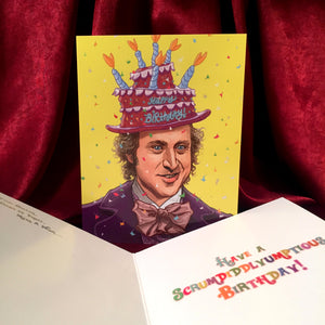 WILLY WONKA Birthday Card!