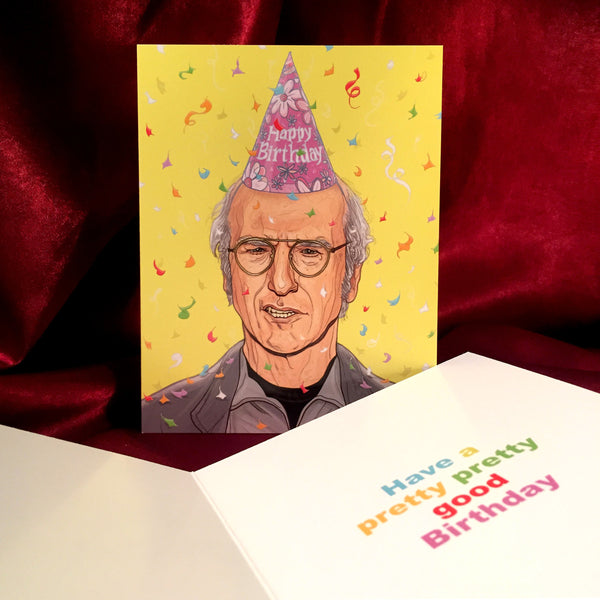 LARRY DAVID Birthday CARD!
